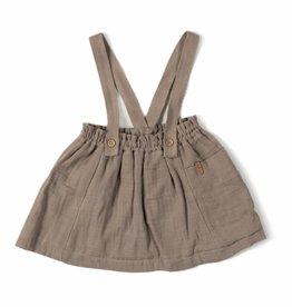 Nixnut Strap skirt taupe