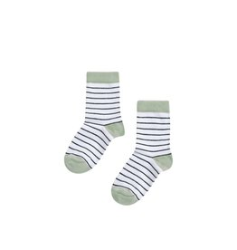Mingo Socks striped/mint