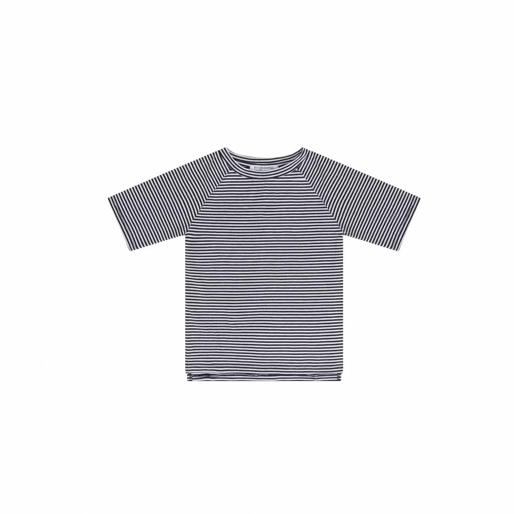 Mingo T-shirt B/W stripe