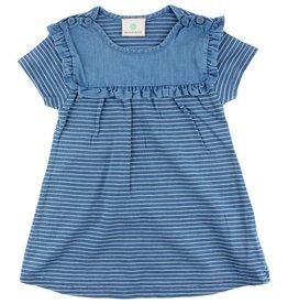 en'fant Ink dress indigo blue