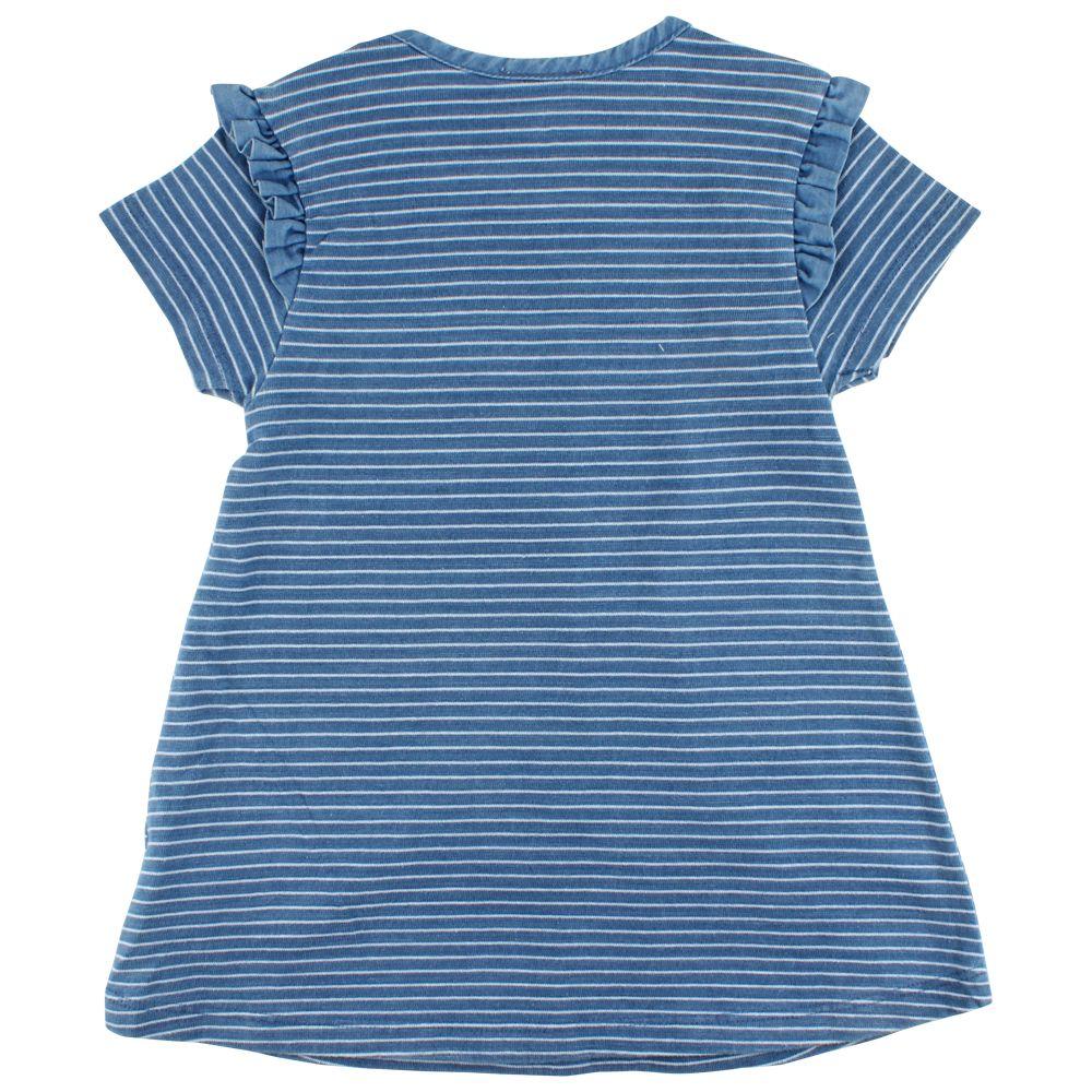 en'fant Ink dress indigi blue