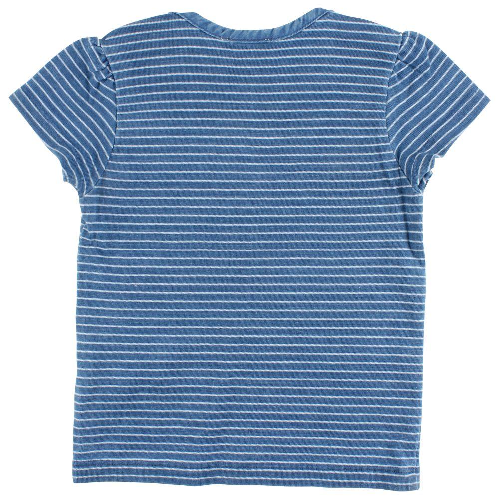 en'fant Ink Ls t-shirt indigo blue