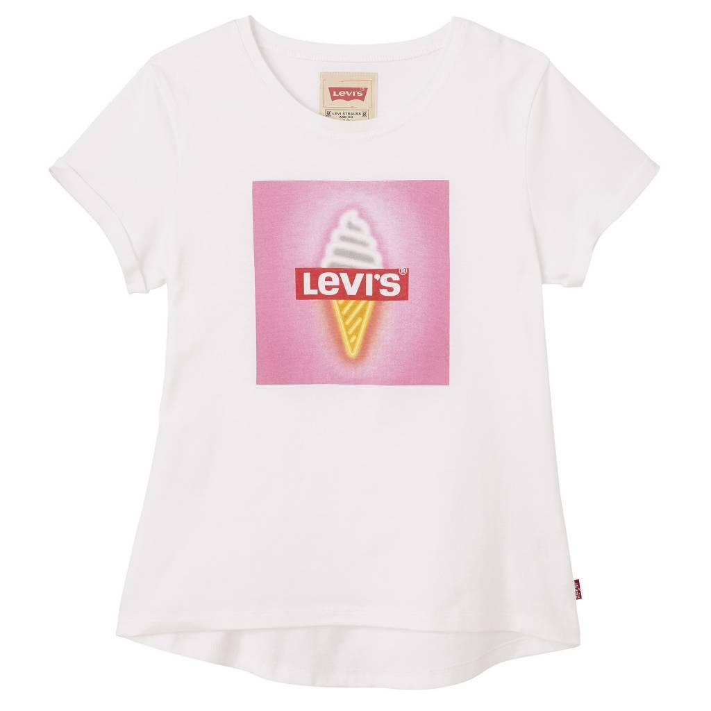 Levi's T-shirt White mimi