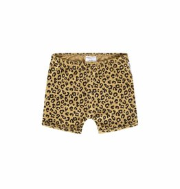 Maed for mini Yellow Leopard shorts