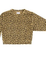 Maed for mini Yellow leopard sweater