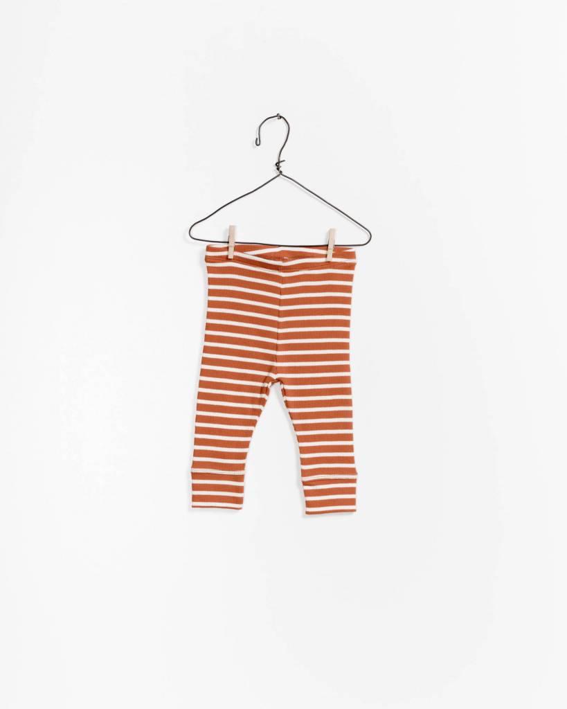 Play-up Striped rib legging