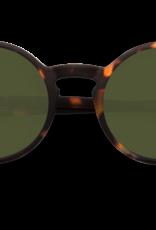 Izipizi Sunglasses #G Tortoise Green lenses