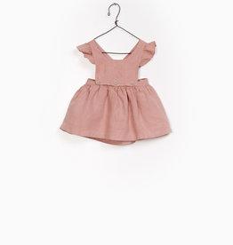 Play-up Linen Dungaree Skirt