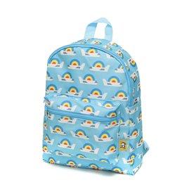 Petit Monkey Backpack airplanes blue