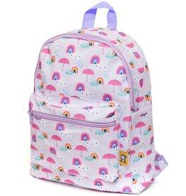 Petit Monkey Backpack rainy days lilac