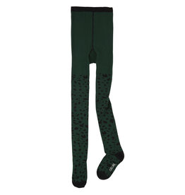 CarlijnQ Spotted animal tights   green