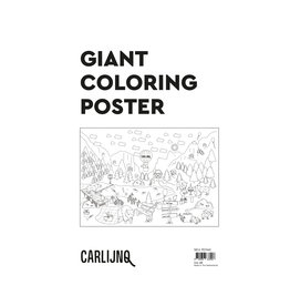 CarlijnQ Giant coloring poster