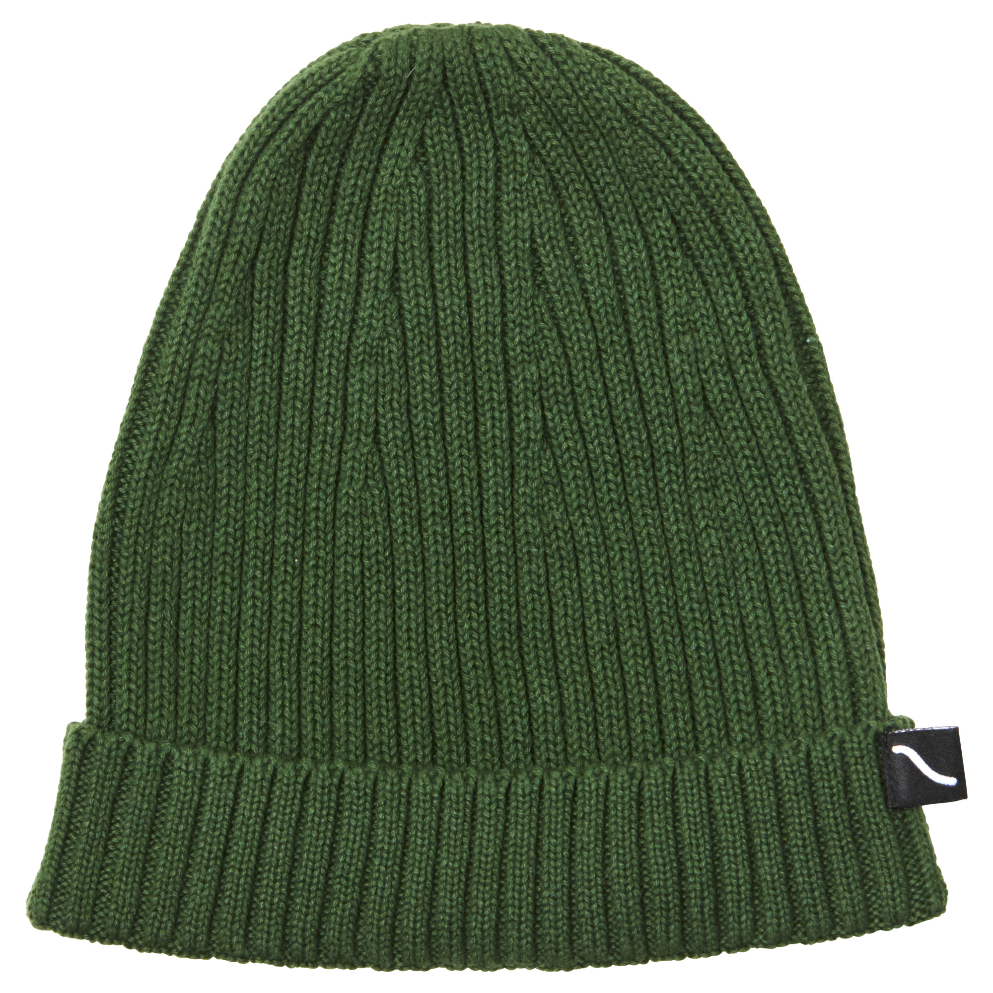 CarlijnQ Knit basics beanie green