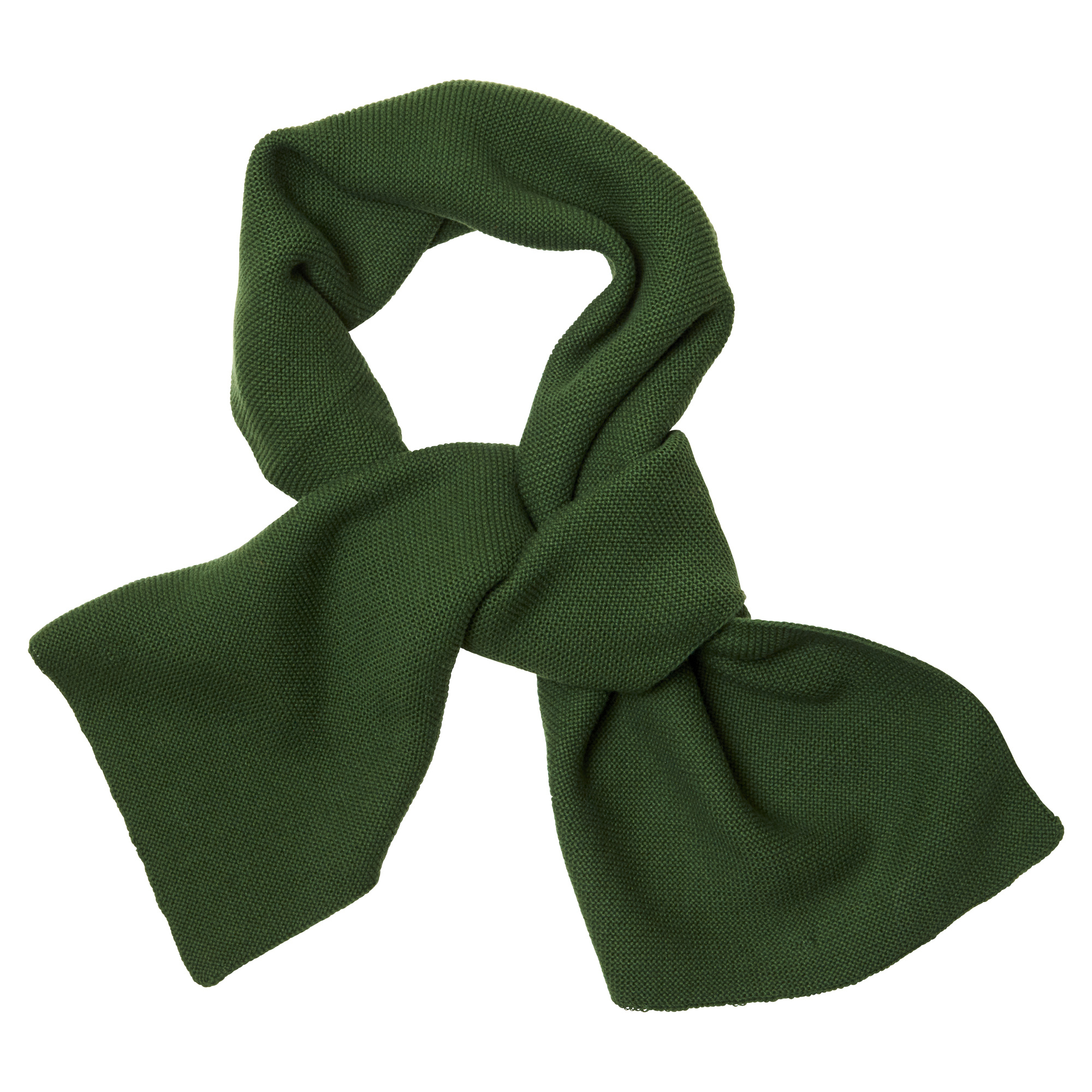 CarlijnQ Knit basics scarf green