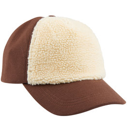 CarlijnQ Caps | brown (with fake fur)