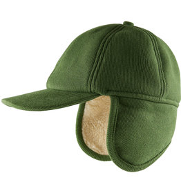 CarlijnQ Caps green | with ears + fake fur