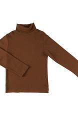 CarlijnQ Basics longsleeve | turtle neck/ brown/ rib