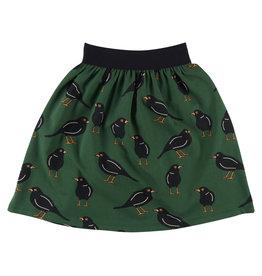 CarlijnQ Black bird long skirt