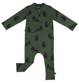 CarlijnQ Black bird jumpsuit