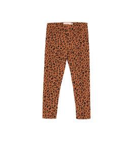 Tiny Cottons Animal print pant brow|dark brown