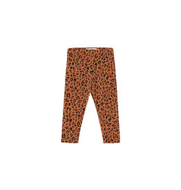 Tiny Cottons Animal print pant | brown/dark brown