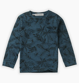 Sproet & Sprout T-shirt tropical aop | moonlight