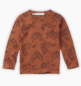 Sproet & Sprout T-shirt chameleon aop | ginger
