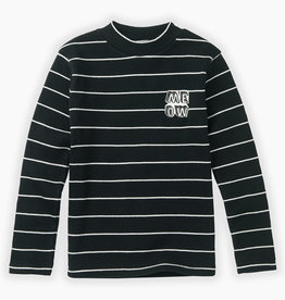 Sproet & Sprout Turtle neck t-shirt stripe | black
