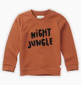 Sproet & Sprout Sweatshirt night jungle | ginger
