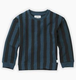 Sproet & Sprout Sweatshirt painted stripe | moonlight