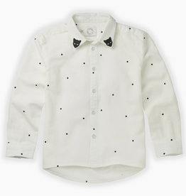 Sproet & Sprout Woven blouse dots | milk