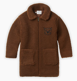 Sproet & Sprout Terry coat panther |mocha