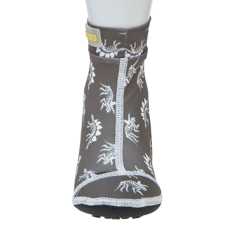 Duukies beachsocks Beachsocks dino grey white