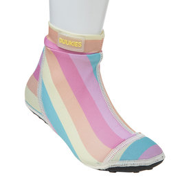 Duukies beachsocks Beachsocks stripe pastel yellow