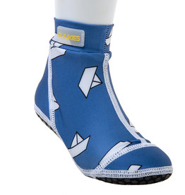 Duukies beachsocks Beachsocks blue boat