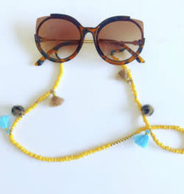 Feest-beest zonnebril luipaard