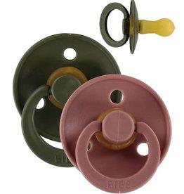 Bibs BiBs 2 pak 0-6 mnd woodchuck/green