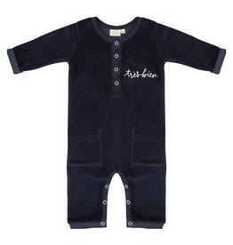 Little Indians Jumpsuit tres bien total eclipse velours