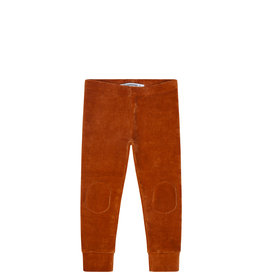 Mingo Legging velvet rib | leather brown