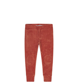 Mingo Legging velvet rib | redwood