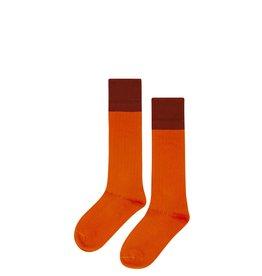 Mingo Knee socks | bitter chocolate/cinnamon