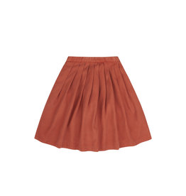 Mingo Midi skirt tencel | red wood