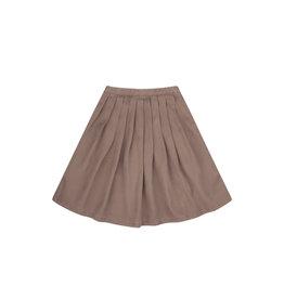 Mingo Midi skirt tencel   taupe