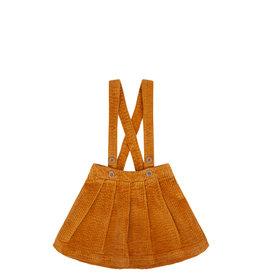 Mingo Salopette skirt corduroy | sudan