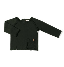 Nixnut Raw shirt | deep moss