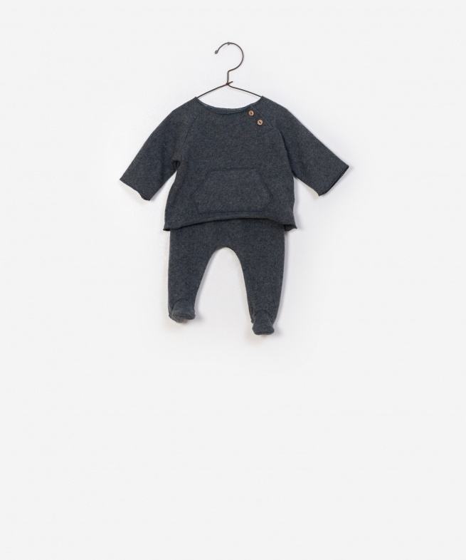 Play-up T-shirt + trousers set | boulder