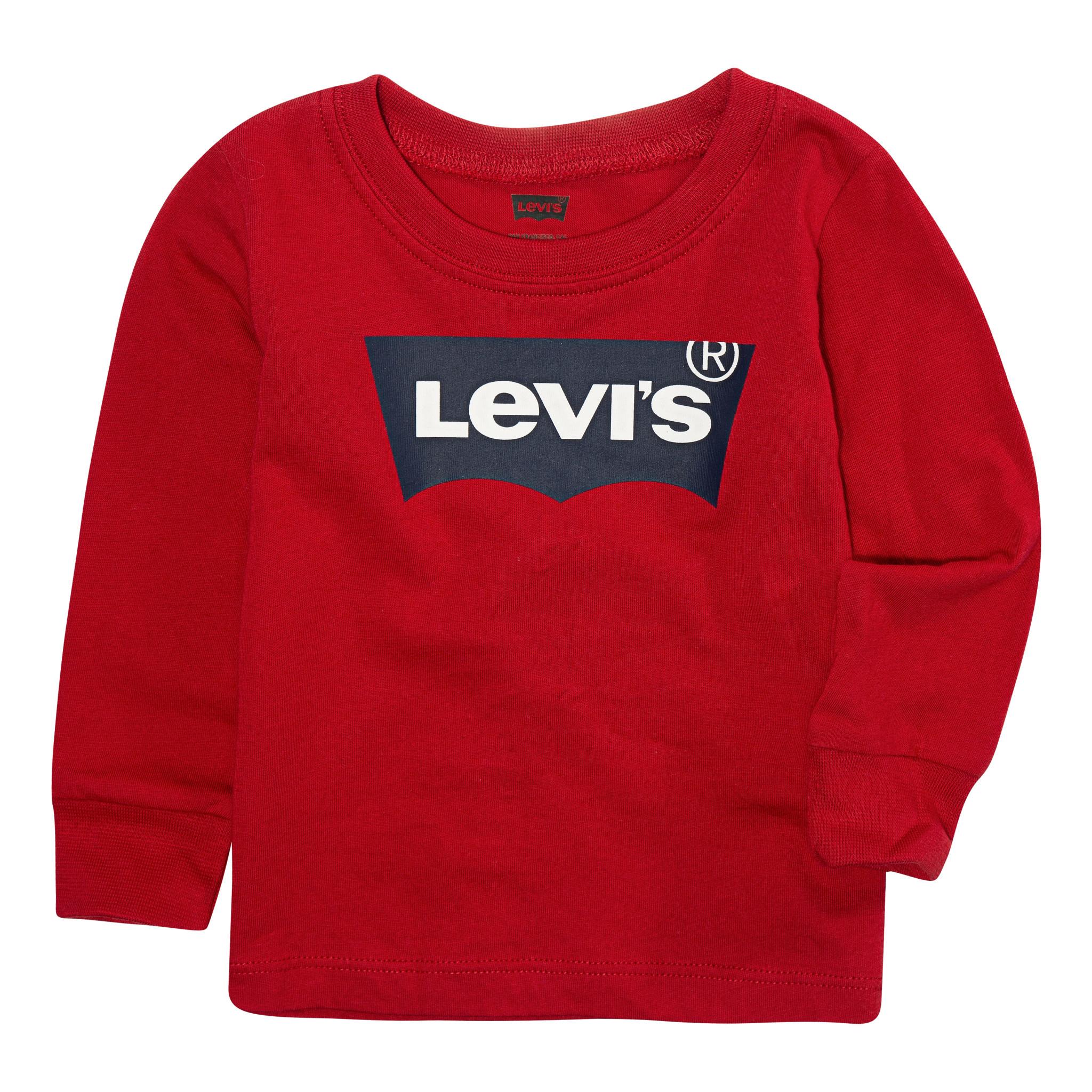Levi's Longsleeve batwing super red