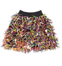 Maed for mini Disco donkey short skirt
