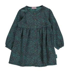 piupiuchick Short dress Emerald animal print