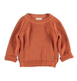 piupiuchick Knitted sweater coral